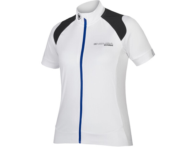 Endura Hyperon Bike Jersey Shortsleeve Women white black at ... 510b68f81
